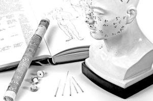 Acupunctuur, naalden, moxa, boek groot ShSt