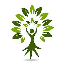 Vrouw, gezondheid, energie, eenheid