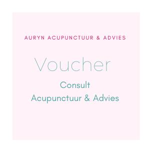 Voucher Consult Acupunctuur&A